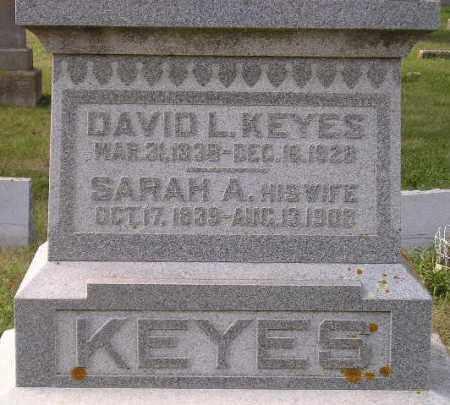 KEYES, SARAH ANNE - Codington County, South Dakota | SARAH ANNE KEYES - South Dakota Gravestone Photos