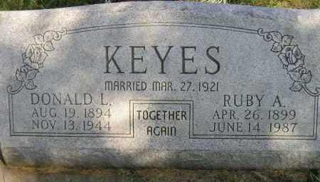 KEYES, RUBY A. - Codington County, South Dakota | RUBY A. KEYES - South Dakota Gravestone Photos