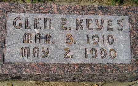 KEYES, GLEN E. - Codington County, South Dakota | GLEN E. KEYES - South Dakota Gravestone Photos