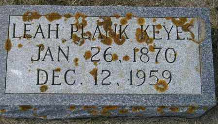 KEYES, LEAH - Codington County, South Dakota | LEAH KEYES - South Dakota Gravestone Photos
