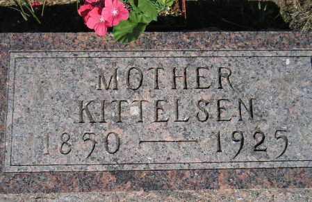 KITTELSEN, MARY - Codington County, South Dakota | MARY KITTELSEN - South Dakota Gravestone Photos