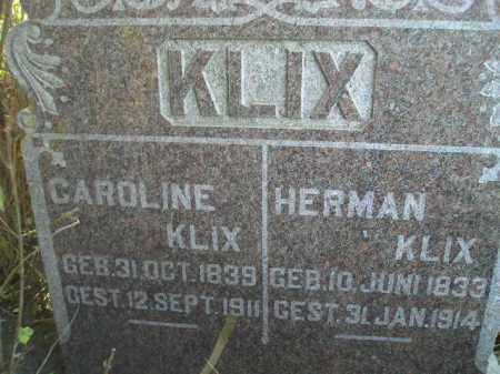KLIX, HERMAN - Codington County, South Dakota | HERMAN KLIX - South Dakota Gravestone Photos