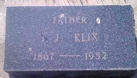 KLIX, F J - Codington County, South Dakota   F J KLIX - South Dakota Gravestone Photos