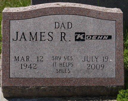 KOEHN, JAMES R. - Codington County, South Dakota | JAMES R. KOEHN - South Dakota Gravestone Photos