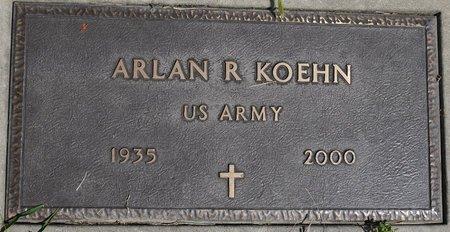 KOEHN, ARLAN R. (MILITARY) - Codington County, South Dakota | ARLAN R. (MILITARY) KOEHN - South Dakota Gravestone Photos