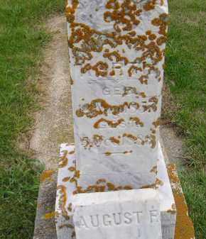 KORTH, AUGUST F. - Codington County, South Dakota | AUGUST F. KORTH - South Dakota Gravestone Photos