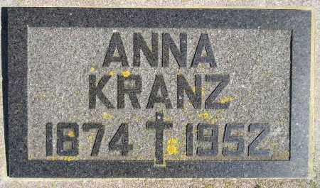 KRANZ, ANNA MARIE - Codington County, South Dakota | ANNA MARIE KRANZ - South Dakota Gravestone Photos