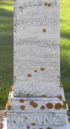KRANZ, APPOLONIA - Codington County, South Dakota | APPOLONIA KRANZ - South Dakota Gravestone Photos