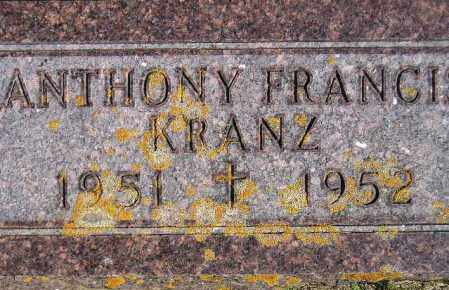 KRANZ, ANTHONY FRANCIS - Codington County, South Dakota | ANTHONY FRANCIS KRANZ - South Dakota Gravestone Photos