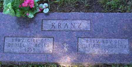 KRANZ, BABY BOY 1955 - Codington County, South Dakota | BABY BOY 1955 KRANZ - South Dakota Gravestone Photos