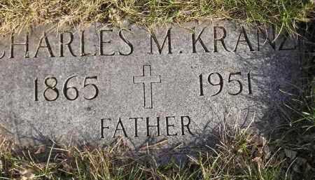 KRANZ, CHARLES M. - Codington County, South Dakota | CHARLES M. KRANZ - South Dakota Gravestone Photos