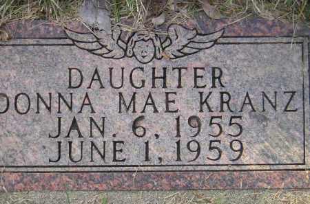 KRANZ, DONNA MAE - Codington County, South Dakota | DONNA MAE KRANZ - South Dakota Gravestone Photos