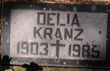 KRANZ, DELIA A. - Codington County, South Dakota | DELIA A. KRANZ - South Dakota Gravestone Photos