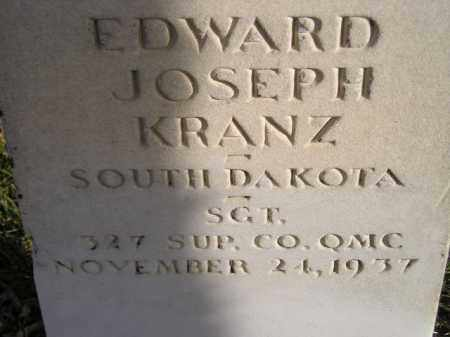 KRANZ, EDWARD JOSEPH - Codington County, South Dakota | EDWARD JOSEPH KRANZ - South Dakota Gravestone Photos