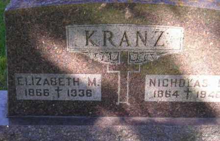 KRANZ, NICHOLAS M. - Codington County, South Dakota | NICHOLAS M. KRANZ - South Dakota Gravestone Photos