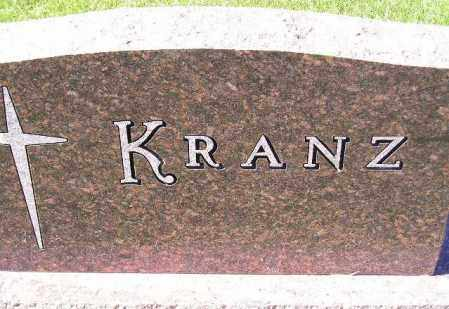 KRANZ, FAMILY STONE - Codington County, South Dakota   FAMILY STONE KRANZ - South Dakota Gravestone Photos