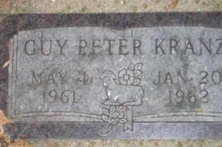 KRANZ, GUY PETER - Codington County, South Dakota   GUY PETER KRANZ - South Dakota Gravestone Photos