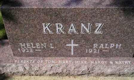 KRANZ, HELEN L. - Codington County, South Dakota | HELEN L. KRANZ - South Dakota Gravestone Photos