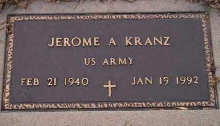 KRANZ, JEROME A. (MILITARY) - Codington County, South Dakota | JEROME A. (MILITARY) KRANZ - South Dakota Gravestone Photos