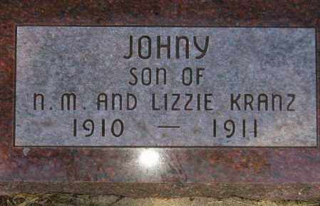 KRANZ, JOHNY - Codington County, South Dakota | JOHNY KRANZ - South Dakota Gravestone Photos