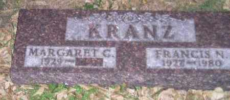 KRANZ, MARGARET C. - Codington County, South Dakota | MARGARET C. KRANZ - South Dakota Gravestone Photos