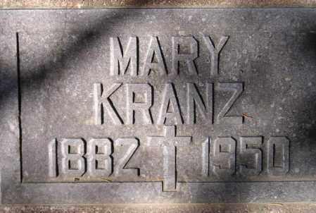 KRANZ, MARY - Codington County, South Dakota   MARY KRANZ - South Dakota Gravestone Photos