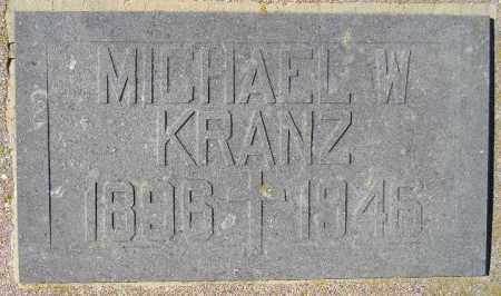 KRANZ, MICHAEL WILLIAM - Codington County, South Dakota | MICHAEL WILLIAM KRANZ - South Dakota Gravestone Photos