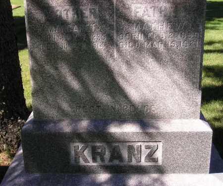 KRANZ, MARGARET - Codington County, South Dakota | MARGARET KRANZ - South Dakota Gravestone Photos