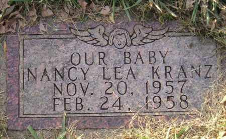 KRANZ, NANCY LEA - Codington County, South Dakota | NANCY LEA KRANZ - South Dakota Gravestone Photos