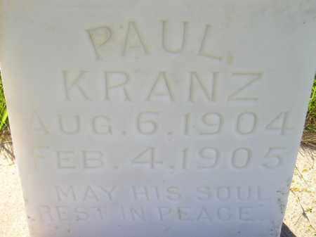 KRANZ, PAUL - Codington County, South Dakota | PAUL KRANZ - South Dakota Gravestone Photos