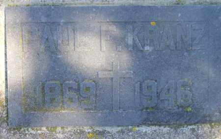 KRANZ, PAUL F. - Codington County, South Dakota | PAUL F. KRANZ - South Dakota Gravestone Photos