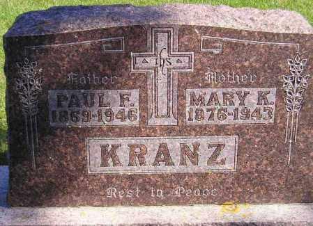 KRANZ, MARY KATHRINE - Codington County, South Dakota | MARY KATHRINE KRANZ - South Dakota Gravestone Photos