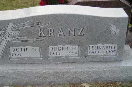 KRANZ, RUTH N. - Codington County, South Dakota | RUTH N. KRANZ - South Dakota Gravestone Photos