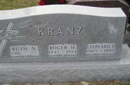 KRANZ, LEONARD P. - Codington County, South Dakota | LEONARD P. KRANZ - South Dakota Gravestone Photos
