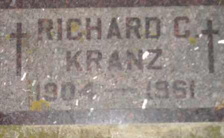 KRANZ, RICHARD C. - Codington County, South Dakota | RICHARD C. KRANZ - South Dakota Gravestone Photos