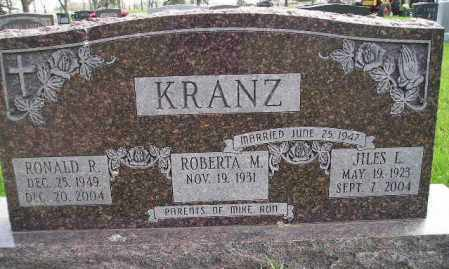 KRANZ, JILES L. - Codington County, South Dakota | JILES L. KRANZ - South Dakota Gravestone Photos