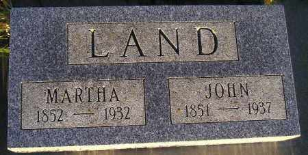 LAND, JOHN ALVIN - Codington County, South Dakota | JOHN ALVIN LAND - South Dakota Gravestone Photos
