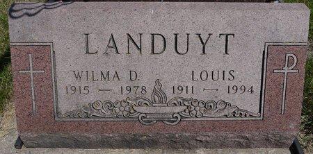 LANDUYT, LOUIS - Codington County, South Dakota | LOUIS LANDUYT - South Dakota Gravestone Photos