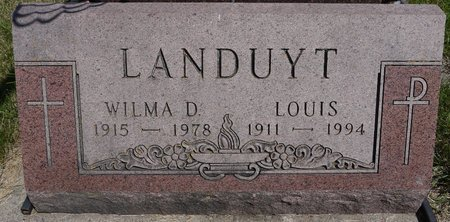 LANDUYT, WILMA D. - Codington County, South Dakota | WILMA D. LANDUYT - South Dakota Gravestone Photos