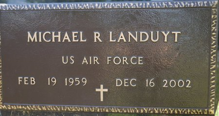 LANDUYT, MICHAEL R. (MILITARY) - Codington County, South Dakota | MICHAEL R. (MILITARY) LANDUYT - South Dakota Gravestone Photos