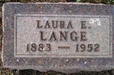 LANGE, LAURA E. - Codington County, South Dakota   LAURA E. LANGE - South Dakota Gravestone Photos