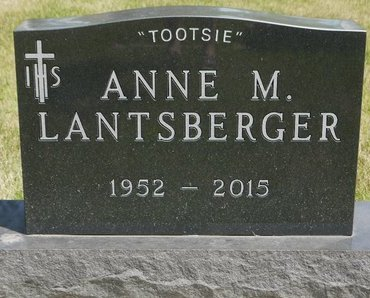 "LANTSBERGER, ANNE M. ""TOOTSIE"" - Codington County, South Dakota 
