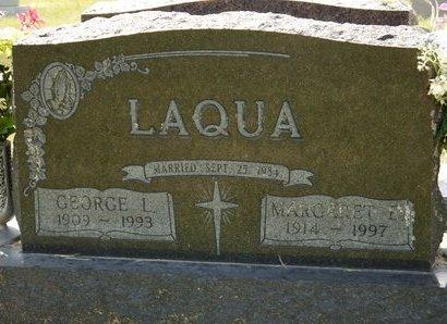 LAQUA, GEORGE L. - Codington County, South Dakota | GEORGE L. LAQUA - South Dakota Gravestone Photos