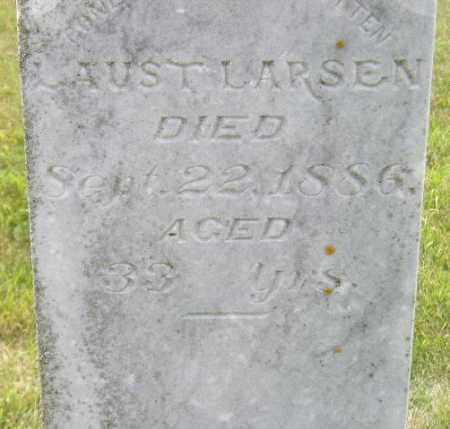 LARSEN, AUST - Codington County, South Dakota   AUST LARSEN - South Dakota Gravestone Photos