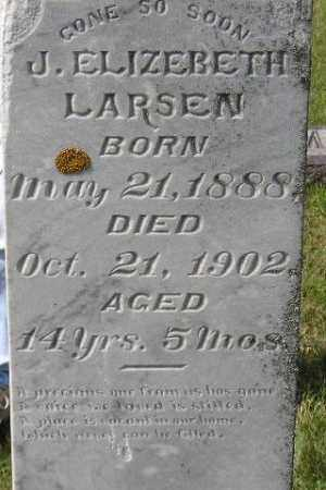 LARSEN, J. ELIZEBETH - Codington County, South Dakota | J. ELIZEBETH LARSEN - South Dakota Gravestone Photos