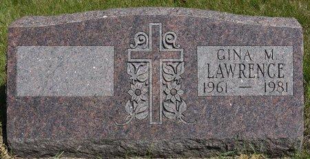 LAWRENCE, GINA M. - Codington County, South Dakota | GINA M. LAWRENCE - South Dakota Gravestone Photos