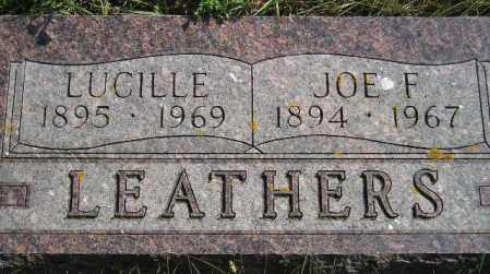 LEATHERS, JOE FREDERICK - Codington County, South Dakota | JOE FREDERICK LEATHERS - South Dakota Gravestone Photos