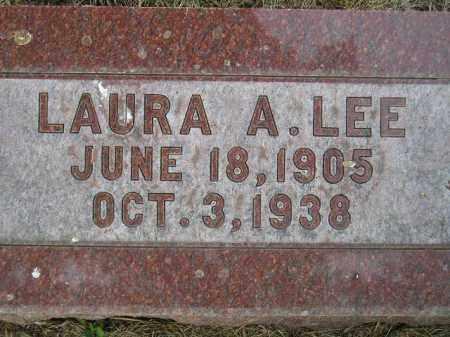 HURLEY LEE, LAURA ANNA - Codington County, South Dakota | LAURA ANNA HURLEY LEE - South Dakota Gravestone Photos