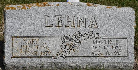 LEHNA, MARTIN E. - Codington County, South Dakota | MARTIN E. LEHNA - South Dakota Gravestone Photos