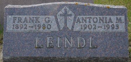 LEINDL, FRANK G. - Codington County, South Dakota   FRANK G. LEINDL - South Dakota Gravestone Photos